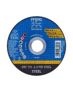 DISCO DE CORTE METAL 4.1/2 - 2.4MM PSF (CAJA 25 UDS.) PFERD