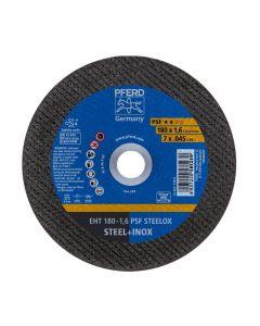 """DISCO DE CORTE METAL INOXIDABLE 7"""" - 1.6MM PSF (CAJA 25 UDS.) PFERD"""