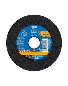 DISCO DE CORTE METAL INOXIDABLE 4.1/2 - 1.0MM PSF (CAJA 25 UDS.) PFERD
