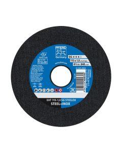 DISCO DE CORTE METAL INOXIDABLE 4.1/2 - 1.0MM SG (CAJA 25 UDS.) PFERD