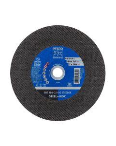 """DISCO DE CORTE METAL INOXIDABLE 7"""" - 2.0MM SG (CAJA 25 UDS.) PFERD"""