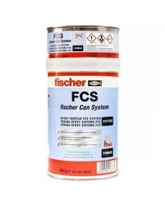 ANCLAJE QUIMICO FISCHER FCS 800 GR